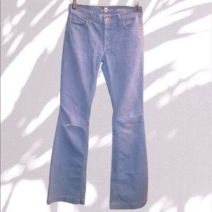 For All 7 Mankind Charlize Slim Flare Jeans-SZ 25